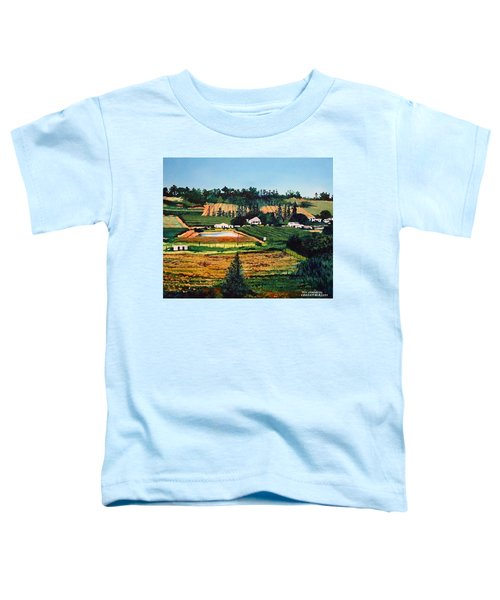 Chubby's Farm Toddler T-Shirt