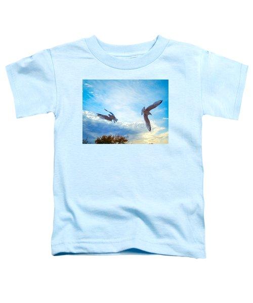Circling Wings  Toddler T-Shirt