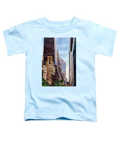 City Sunrise Toddler T-Shirt