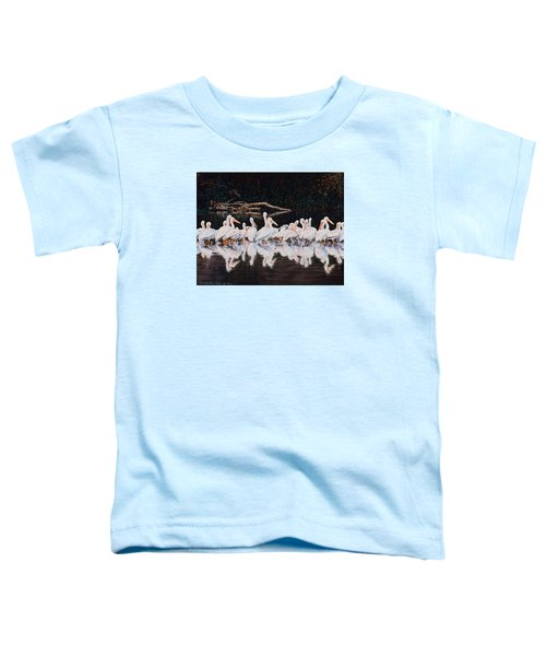 Clear Lake Pelicans Toddler T-Shirt
