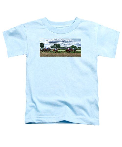 Close Competition Toddler T-Shirt