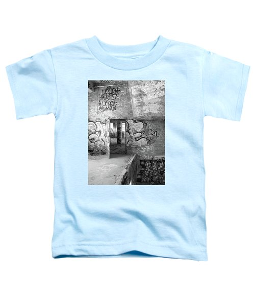 Clothcraft In Black And White Toddler T-Shirt