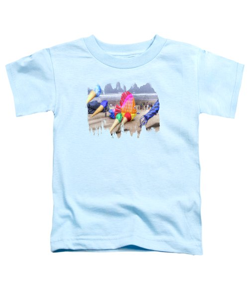 Clown Fish And The Ice Cream Cone Kites Toddler T-Shirt