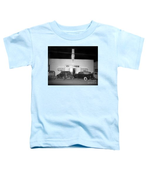 Club 526  Henry Franci, Salinas 1941 Toddler T-Shirt