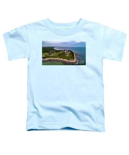 Coastal Nobska Point Lighthouse Toddler T-Shirt