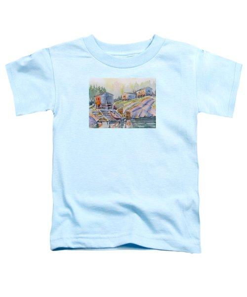 Coastal Village - Newfoundland Toddler T-Shirt