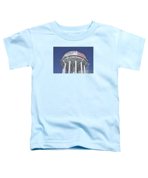 Cocoa Florida Water Tower Toddler T-Shirt