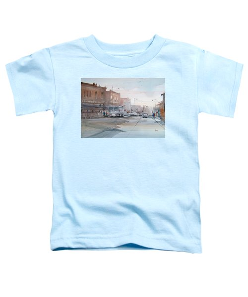 College Avenue - Appleton Toddler T-Shirt