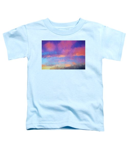 Color Abstraction Xlviii - Sunset Toddler T-Shirt