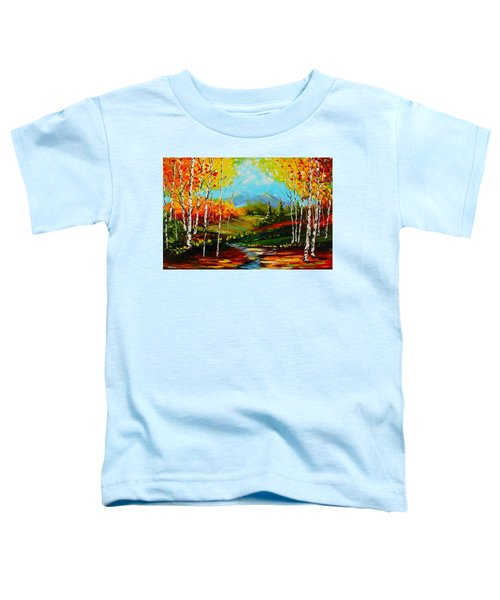Colorful Spring Toddler T-Shirt