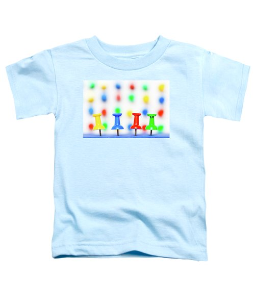 Colourful Pins. Toddler T-Shirt