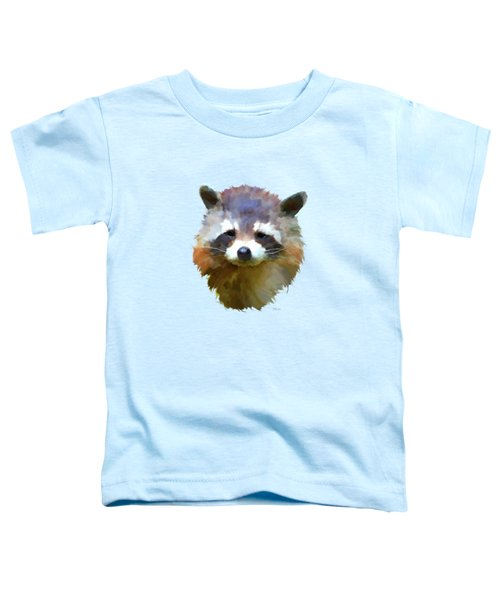 Colourful Raccoon Toddler T-Shirt