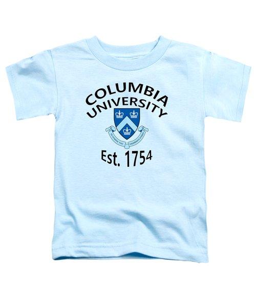 Columbia University Est 1754 Toddler T-Shirt