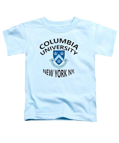 Columbia University New York Toddler T-Shirt