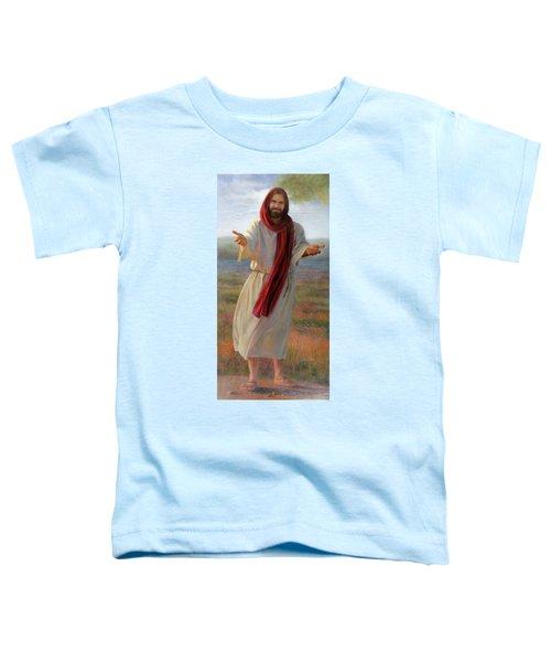 Come Unto Me Full-length Toddler T-Shirt