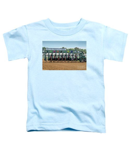 Coming Out Of The Gate Toddler T-Shirt