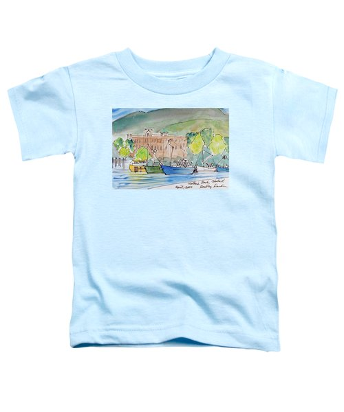 Fishing Boats In Hobart's Victoria Dock Toddler T-Shirt