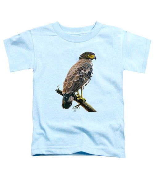 Congo Serpent Eagle Toddler T-Shirt by Anthony Mwangi
