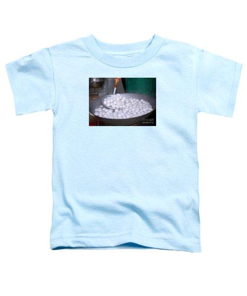 Cooking Chinese Fish Balls Toddler T-Shirt