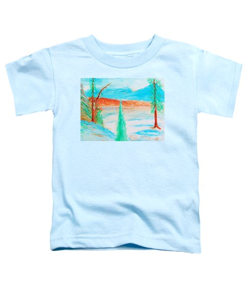 Cool Landscape Toddler T-Shirt