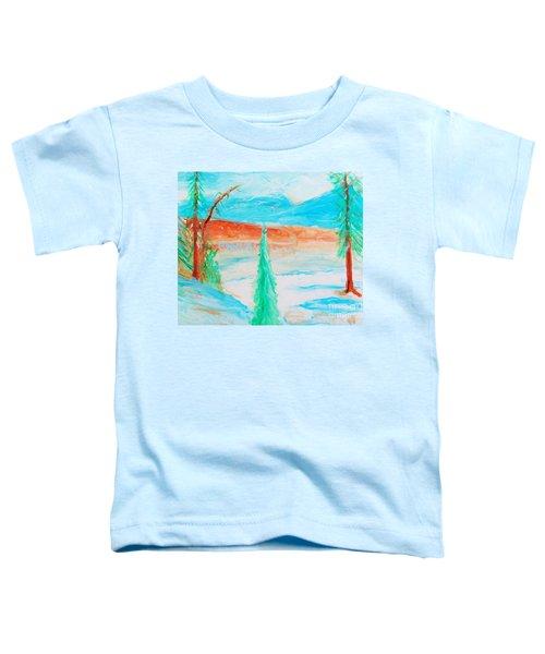 Cool Landscape Toddler T-Shirt