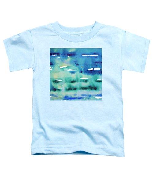 Cool Watercolor Toddler T-Shirt