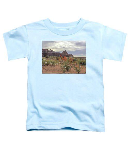 Copper Mallow And Pale Evening Primrose Toddler T-Shirt