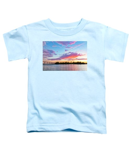 Cotton Candy Sunset Toddler T-Shirt