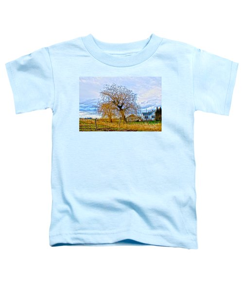 Country Life Artististic Rendering Toddler T-Shirt