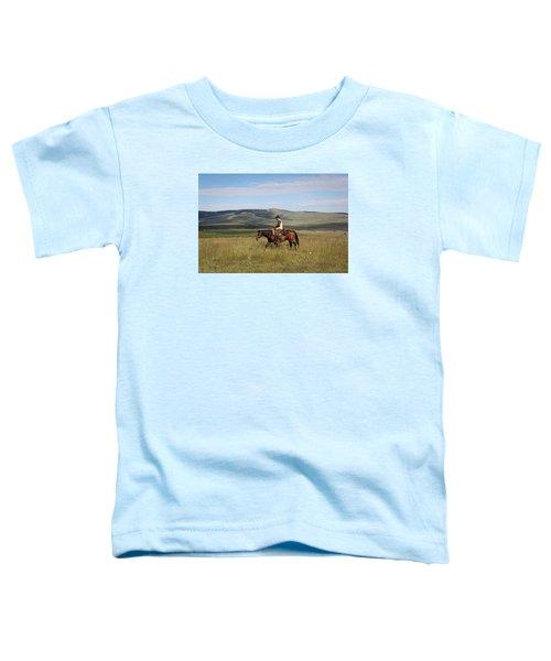 Cowboy Landscapes Toddler T-Shirt