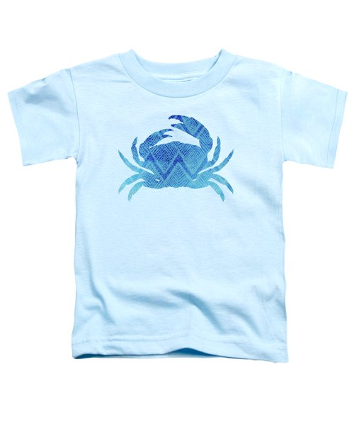 Crab, Tropical Caribbean Blue Crab Toddler T-Shirt