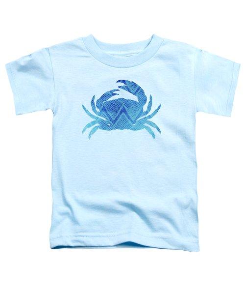Crab, Tropical Caribbean Blue Crab Toddler T-Shirt