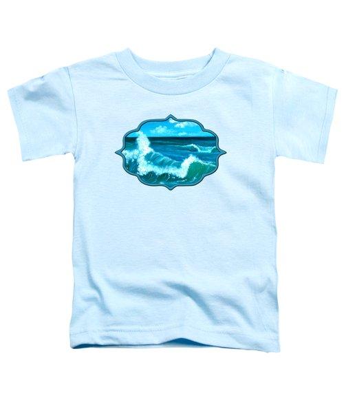 Crashing Wave Toddler T-Shirt
