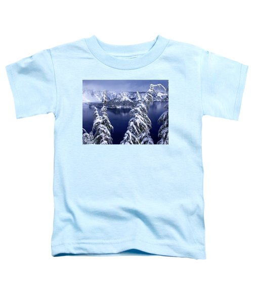 Crater Lake Toddler T-Shirt