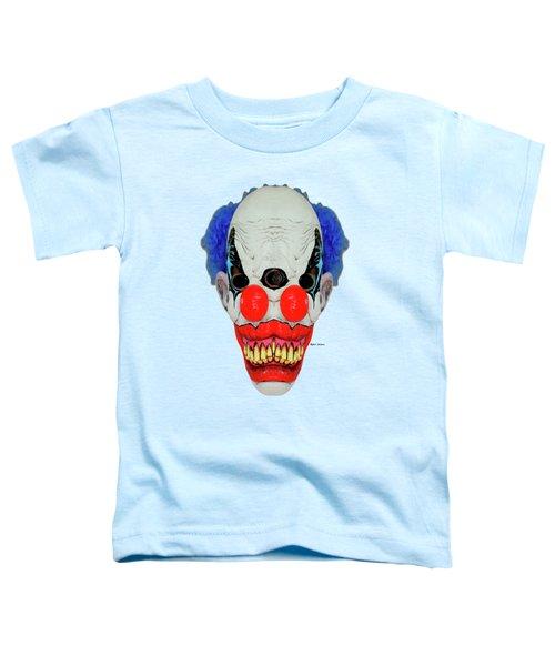 Creepy Clown Toddler T-Shirt