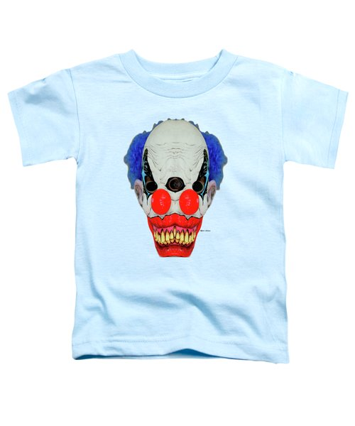 Creepy Clown Toddler T-Shirt