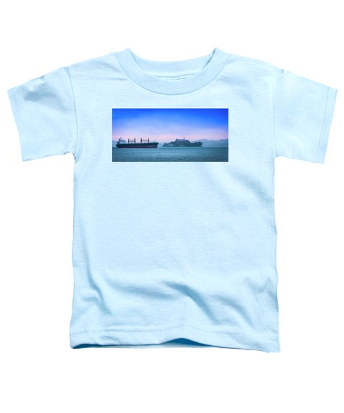 Crossing Alcatraz Toddler T-Shirt
