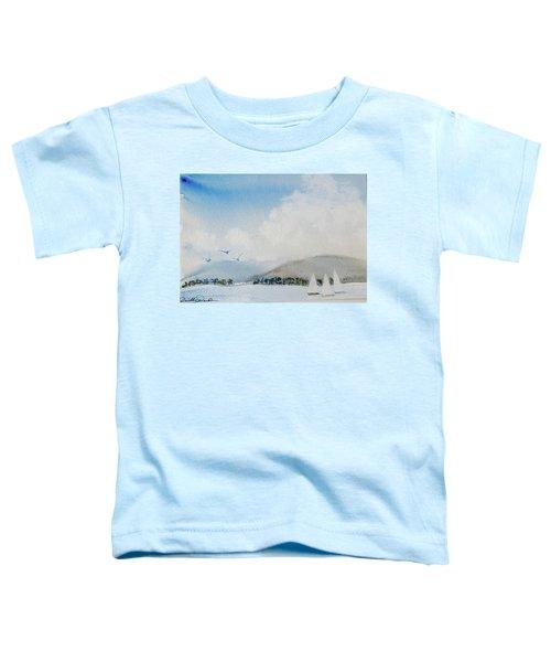 Cruising In Company Along The Tasmania Coast  Toddler T-Shirt