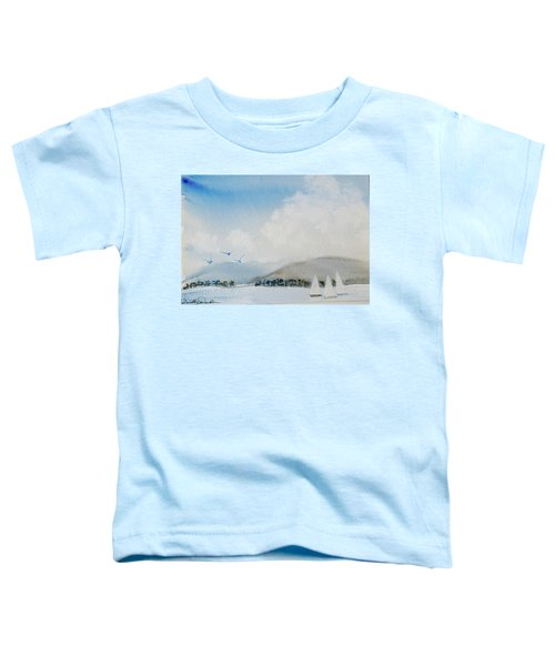 Cruising In Company Along The Tasmania Coast  Toddler T-Shirt