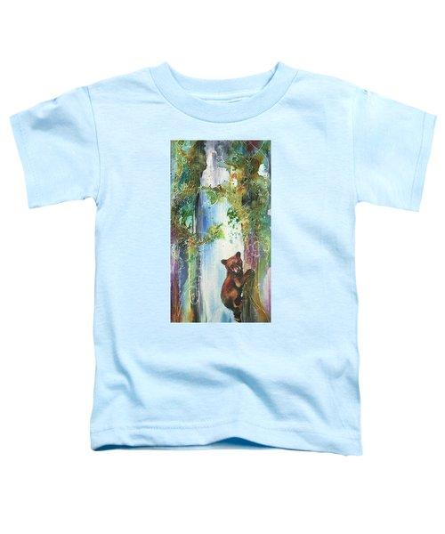 Cub Bear Climbing Toddler T-Shirt