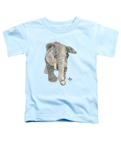 Cuddly Elephant Toddler T-Shirt