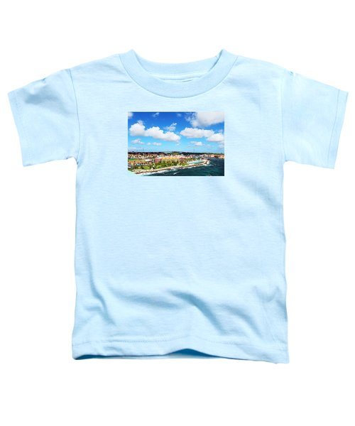 Curazao Toddler T-Shirt by Infinite Pixels