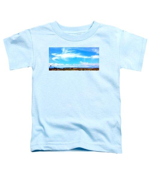 Dragon Cloud Over Suburbia Toddler T-Shirt