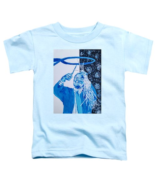 Cutting Down The Net - Dean Smith Toddler T-Shirt