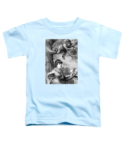 Cutting The Mistletoe Bough For Christmas Decoration Toddler T-Shirt