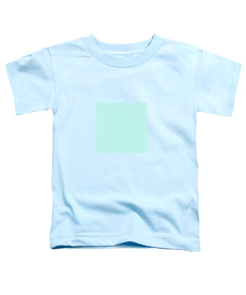 Cyan Ultra Soft Pastels Colour Palette Toddler T-Shirt