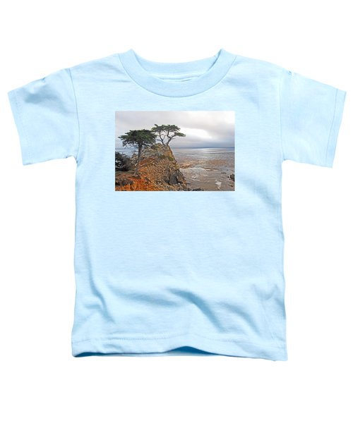 Cypress Tree At Pebble Beach Toddler T-Shirt
