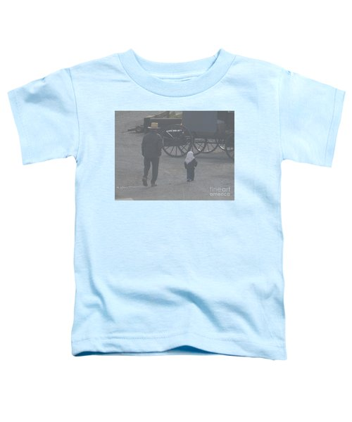 Dad And Daughter Toddler T-Shirt