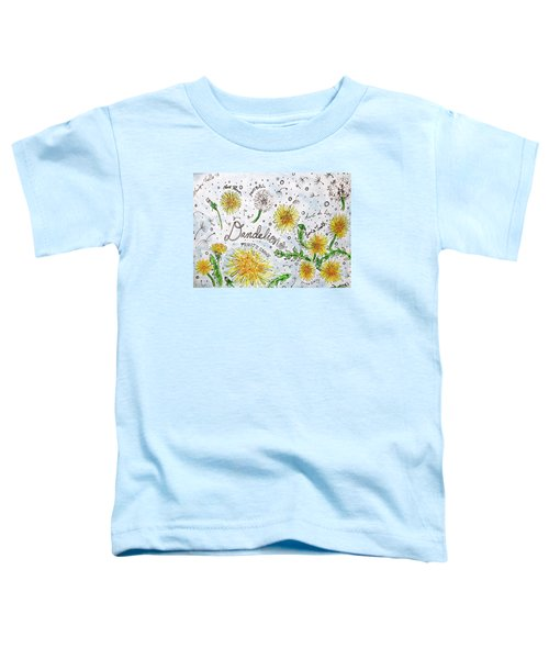 Dandelions Toddler T-Shirt