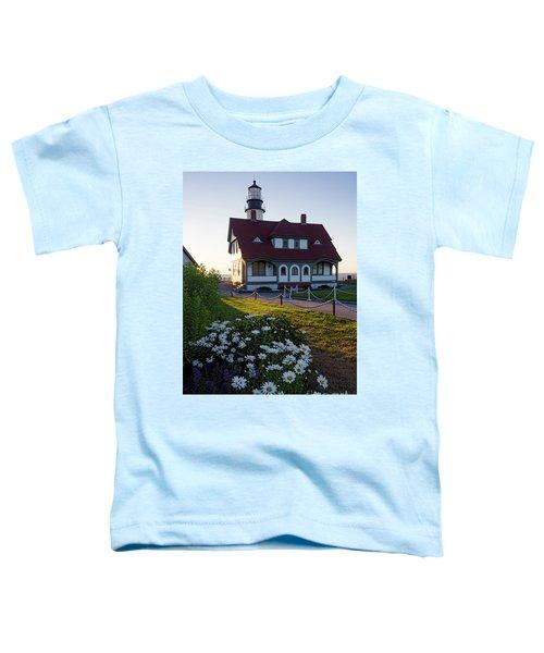 Dawn At Portland Head Light, Cape Elizabeth, Maine  -08614 Toddler T-Shirt